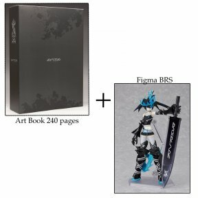 Art Book de Huke + Figma Black Rock Shooter