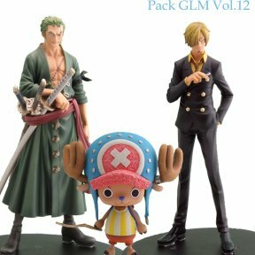 Grandline men 12 - Pack Zoro/Sanji/Chopper