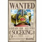 Poster plastifié Wanted Sogeking (52X35) photo thumbnail