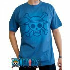 T-shirt Skull with map blue Ver. (Taille L)
